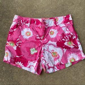 Lilly Pulitzer Cherry Begonia Callahan Shorts